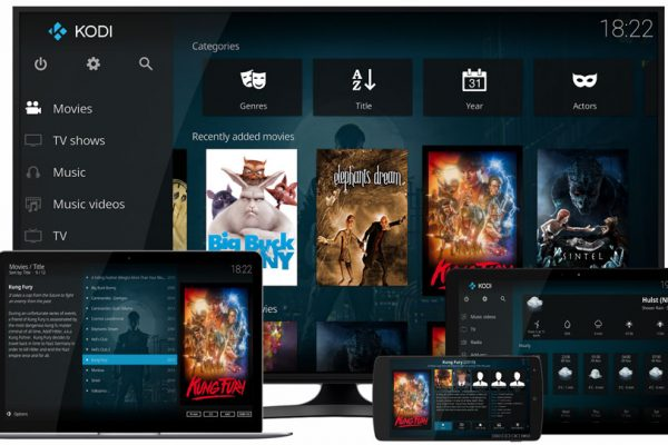 Kodi on different devices